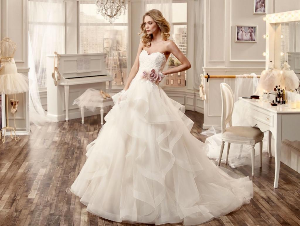 Новинки свадебные платья картинки
