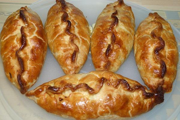 Cornish pasty - Готовые пирожки Корниш пасти