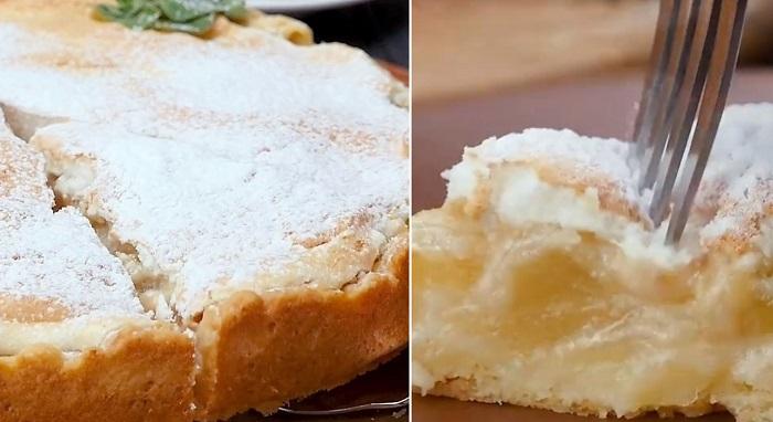 американский грушевый пирог