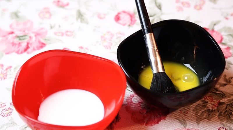 маска из яйца для сухой кожи
