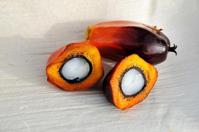 в чем содержится пальмовое масло
