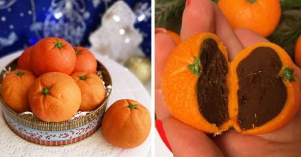 Трюфельные мандарины — вкусный рецепт