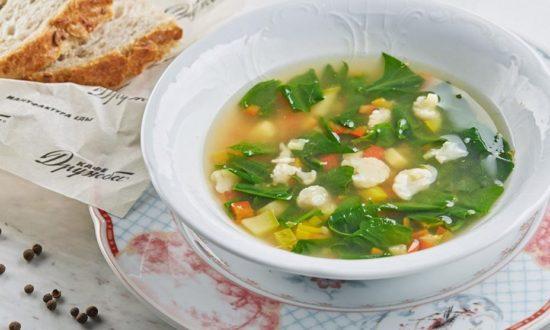 Овощной суп — как приготовить
